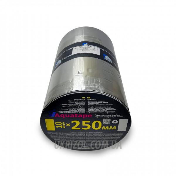 Битумная Лента 250 мм х 10 м AquaTape ALU+ (62715)
